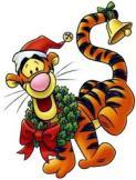 Tigger at Christmas 1